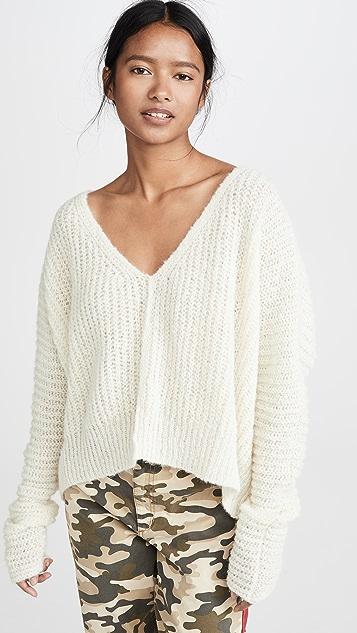 Free People Moonbeam Alpaca Sweater