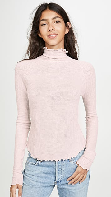 Make It Easy Thermal Long Sleeve Tee by Free People
