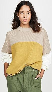 Easy Street Colorblock Sweater