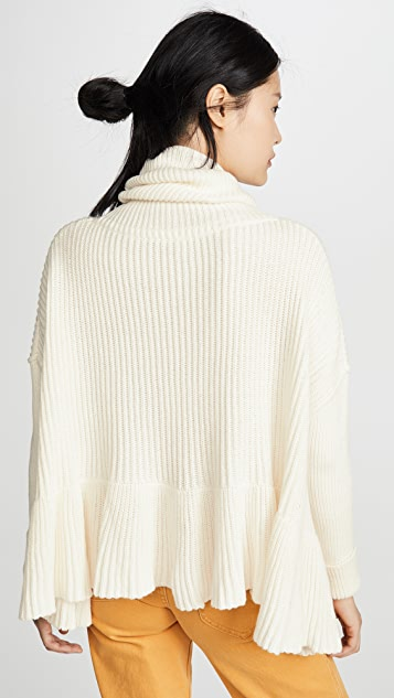 Free People Layer Cake Sweater