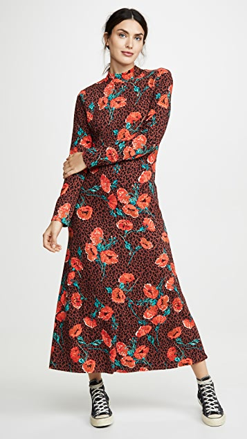 Free People Retro Romance Midi Dress