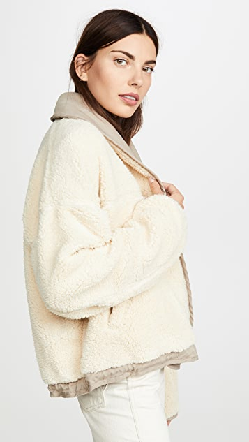 Free People Mix It Up Reversible Jacket