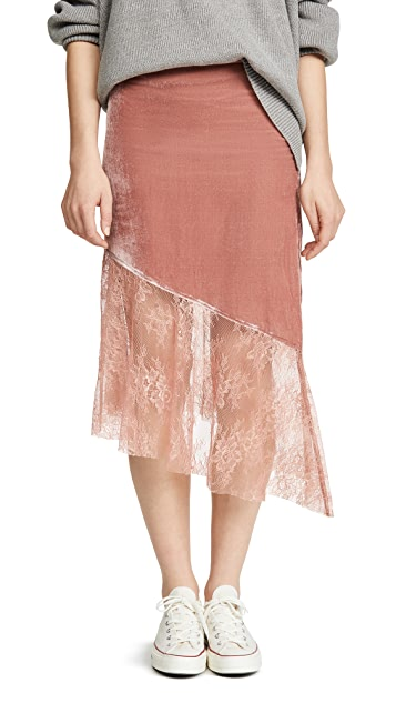 Free People My Lacey 中长半身裙