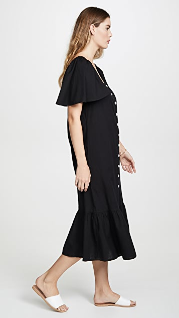 Free People Sweet Sunday Midi Dress