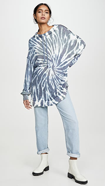 Free People Best Catch Tie Dye Sweatshirt