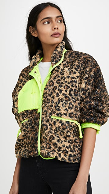 Free People Coats FP Movement Queen Of The Jungle Jacket