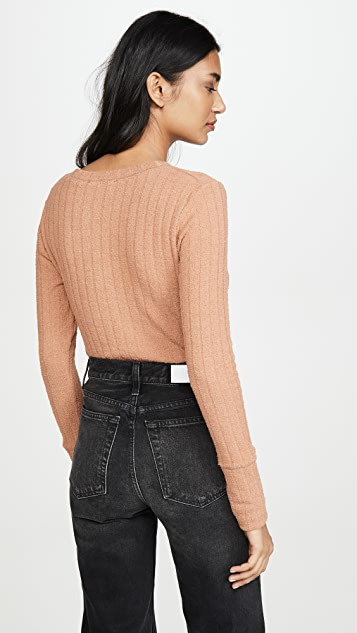 Free People Oliver Henley Long Sleeve Tee