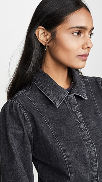Free People Mia Denim Mini Dress
