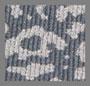 炭黑/银色豹纹