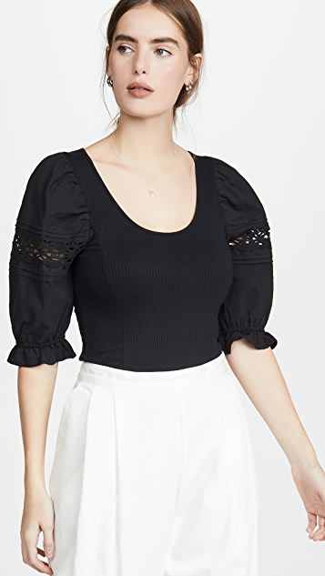 Free People Something Special Top