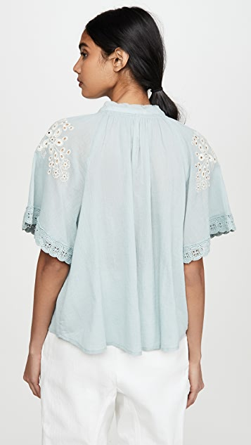 Free People Dahlia Blouse