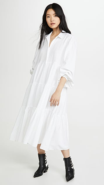 Free People Light Heart Shirt Dress