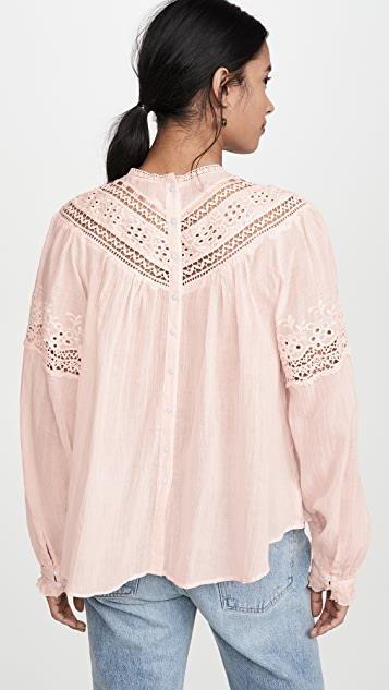 Free People Abigail Victorian 上衣