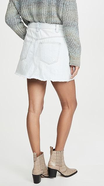 Free People Side Car Miniskirt