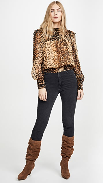 Free People Roma Blouse