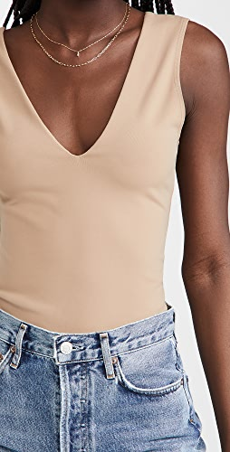 Free People - Keep It Sleek Bodysuit