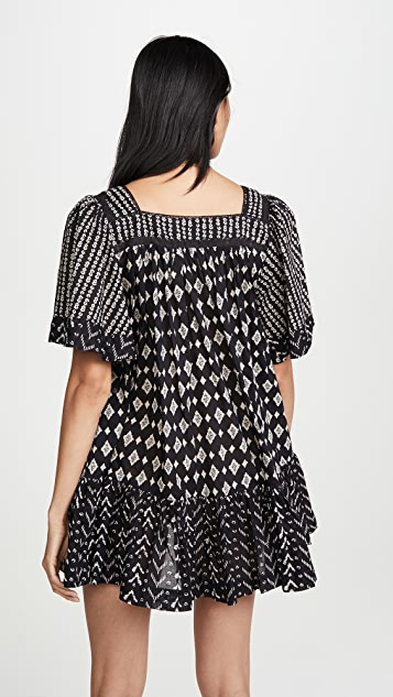 Free People Hearts Desire Printed Dress