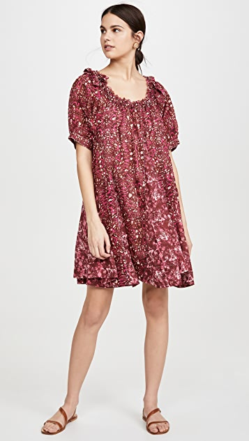 Free People Jet Set 迷你连衣裙