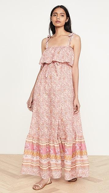 Free People Миди-платье Tangier в стиле комбинации