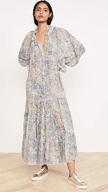 Free People Feeling Groovy 长连衣裙