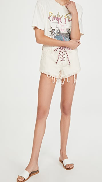 Free People Becket Slouchy Cutoff Shorts