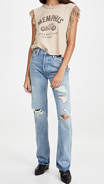Free People Rock with You Tee