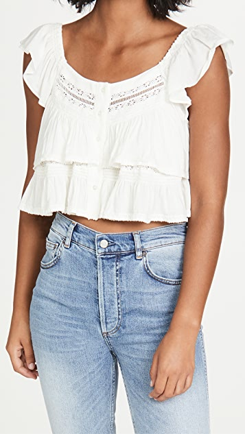 Free People Sunny Days Ahead Top