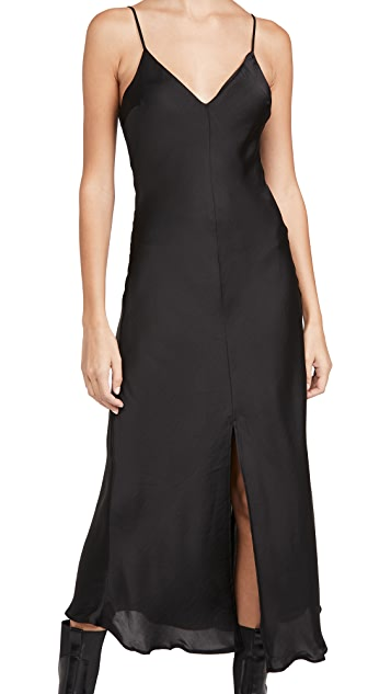 Free People Smoke & Mirrors Maxi Slip