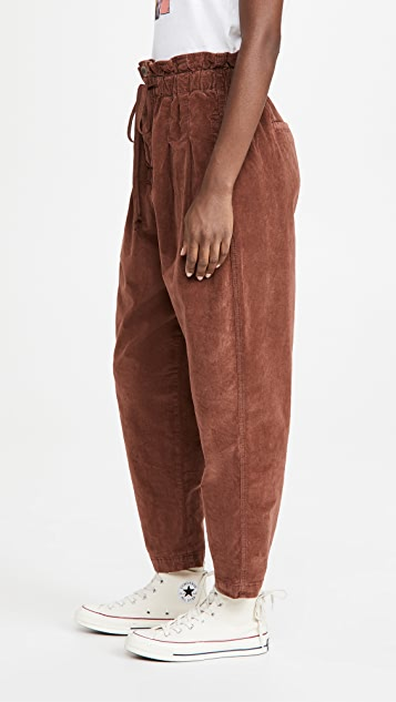 Free People Margate Cord Trousers
