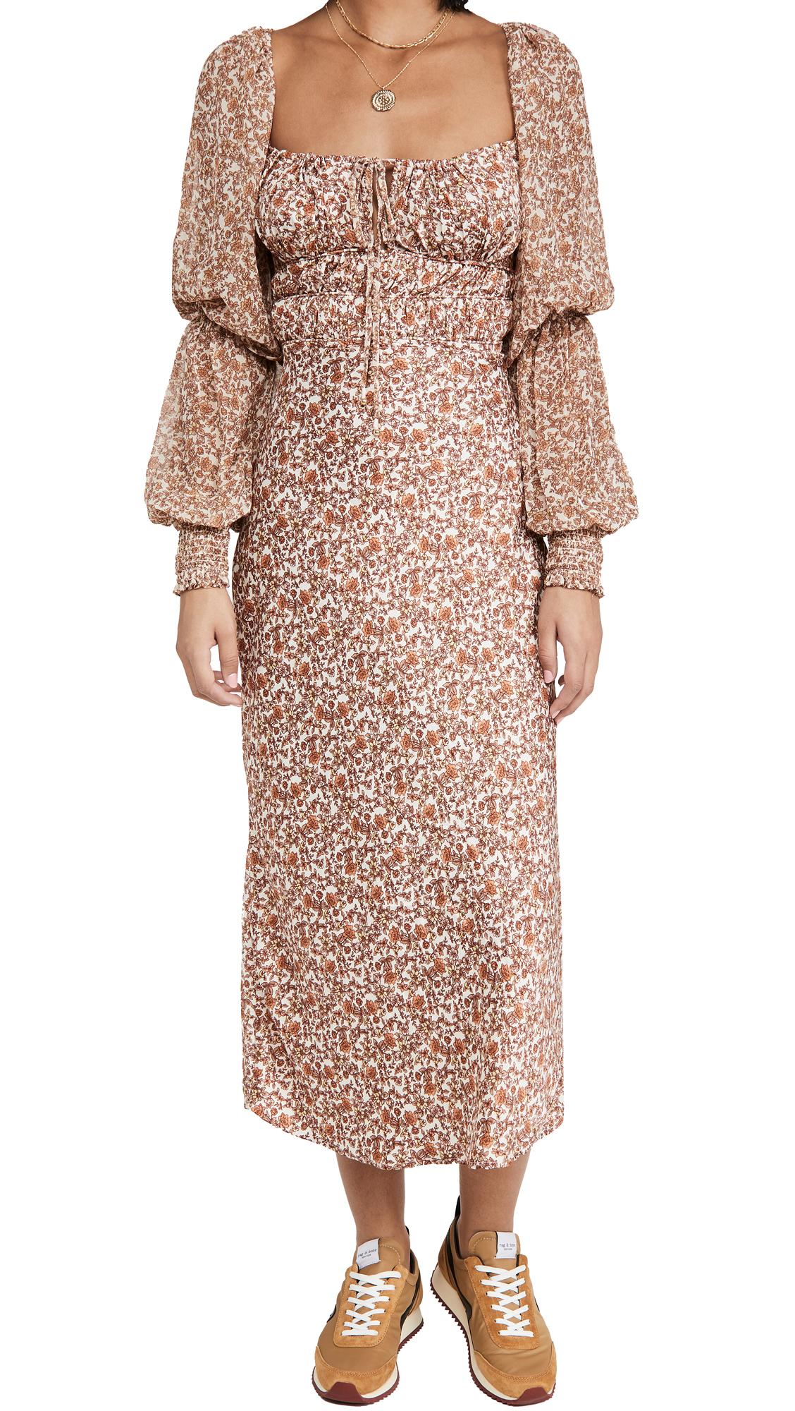 Free People Aglow Midi Dress
