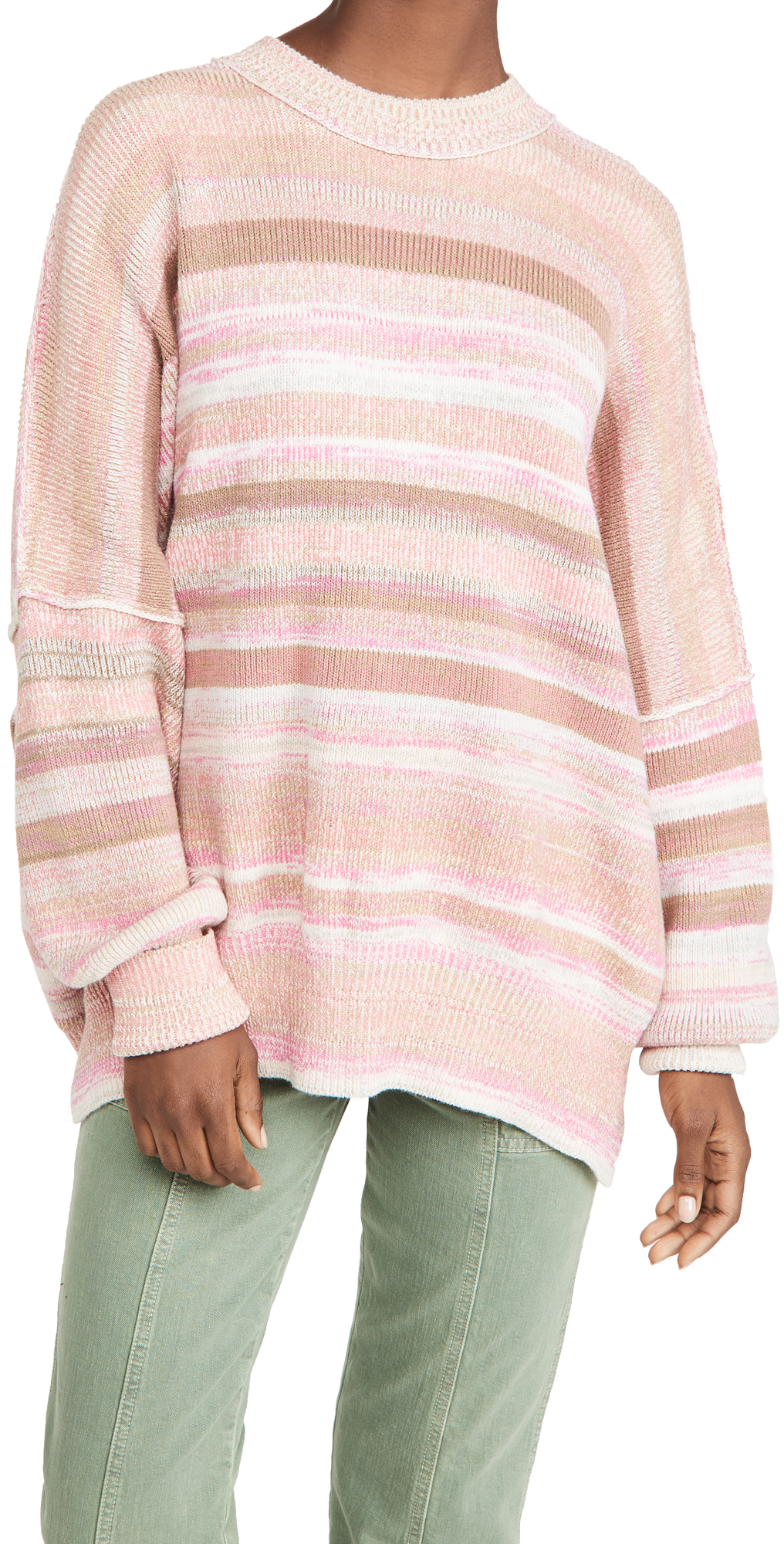 Free People Easy Street Space Dye Sweater