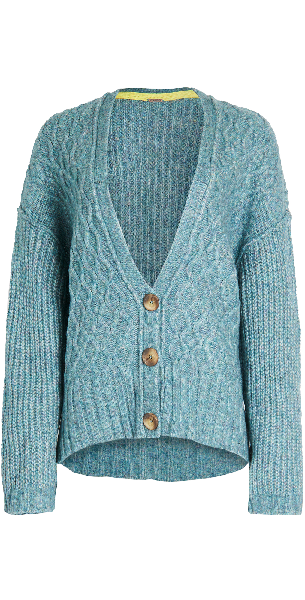 Free People Molly Cable Cardigan