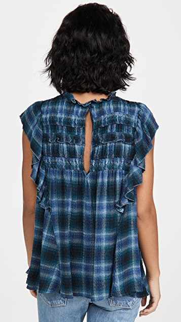 Free People Not Your Average Girl Top