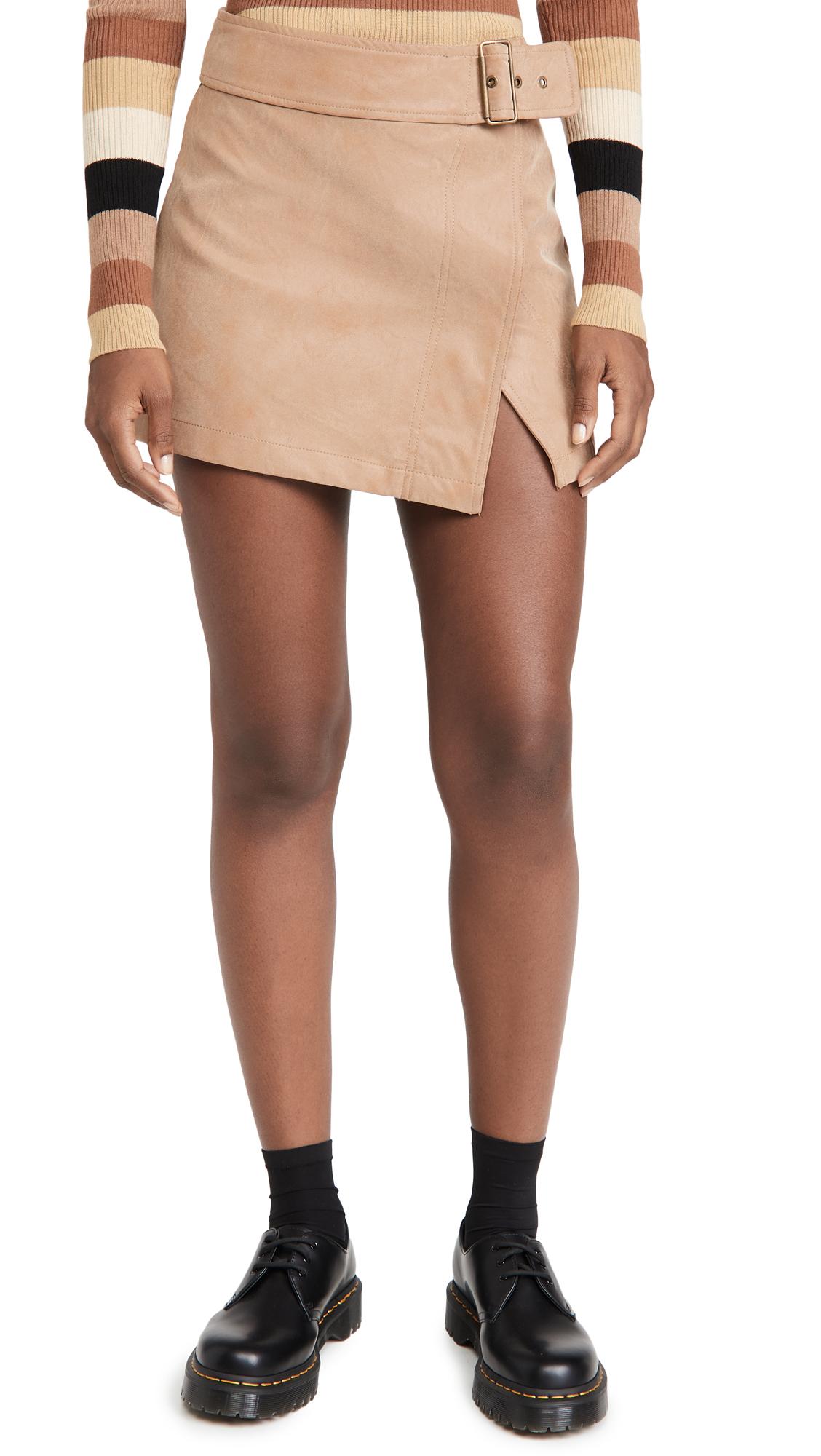 Free People Ari Wrap Skirt
