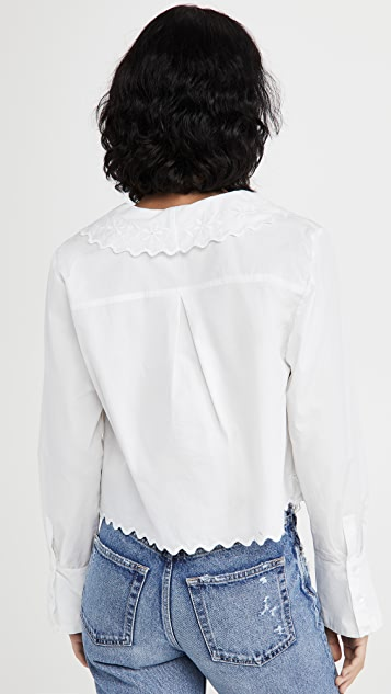 Free People Janie Button Down