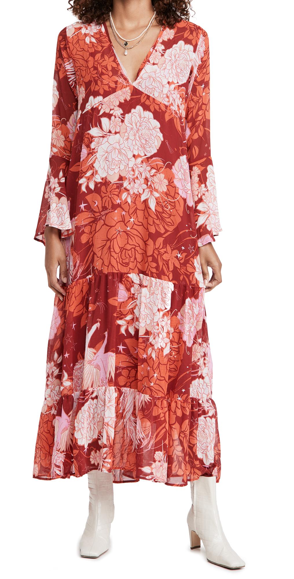 Free People Moroccan Roll Maxi Dress