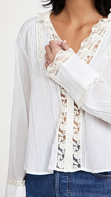 Free People Clemence Button Down