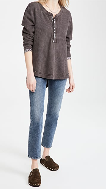 Free People Fall For You 亨利衫