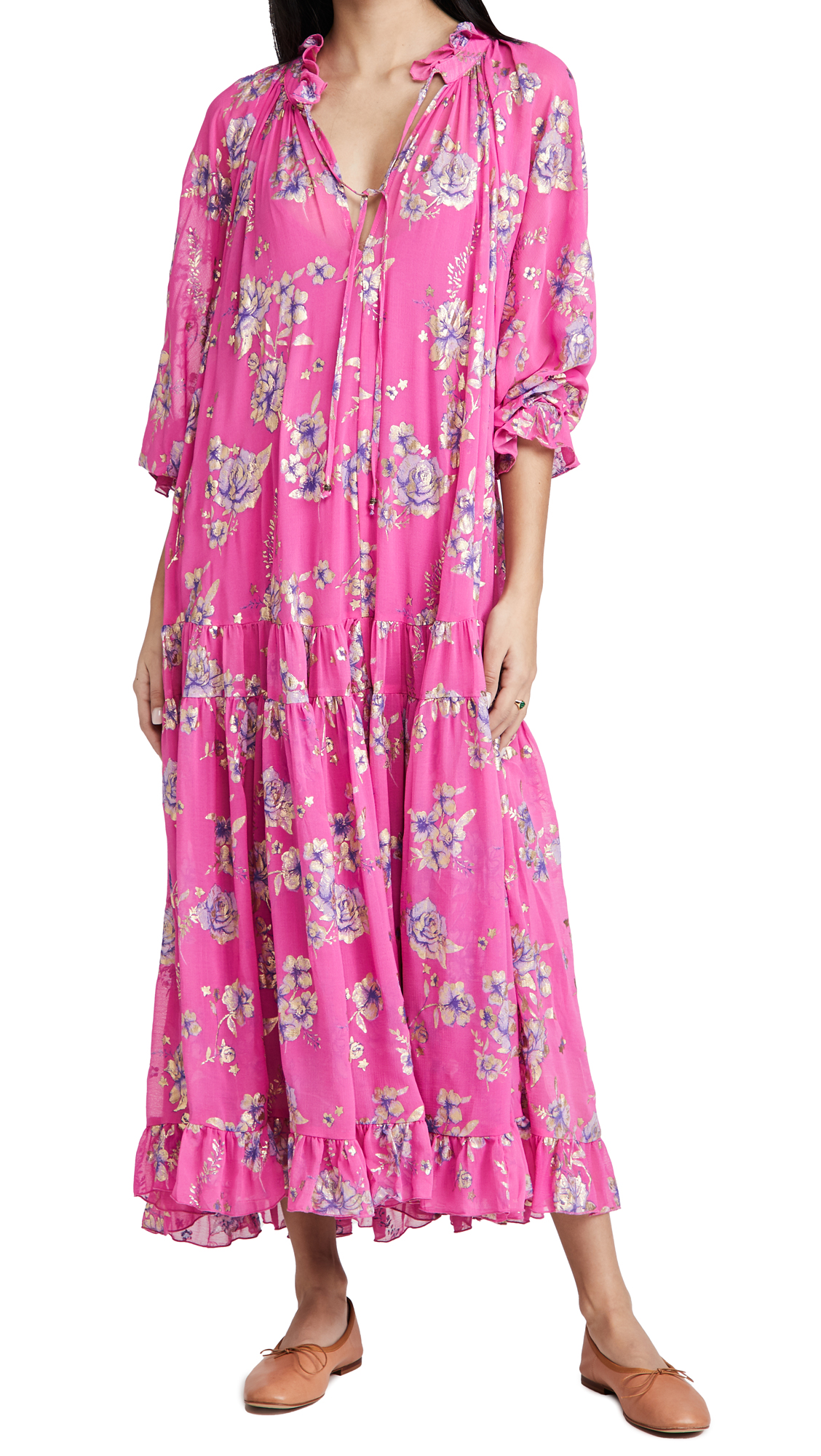 Free People FEELING GROOVY MAXI FOIL