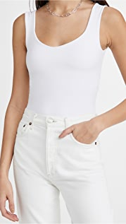 Free People Clean Lines Thong Bodysuit