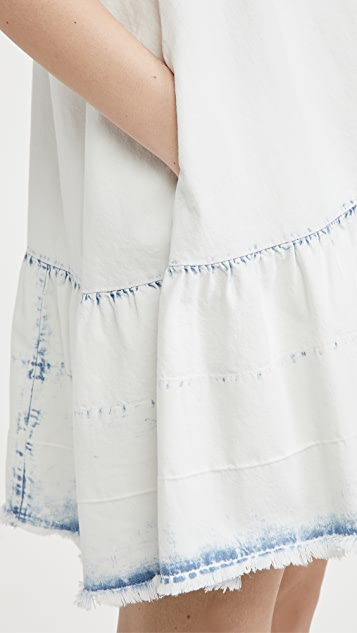 Free People Sunspray Denim Mini Dress