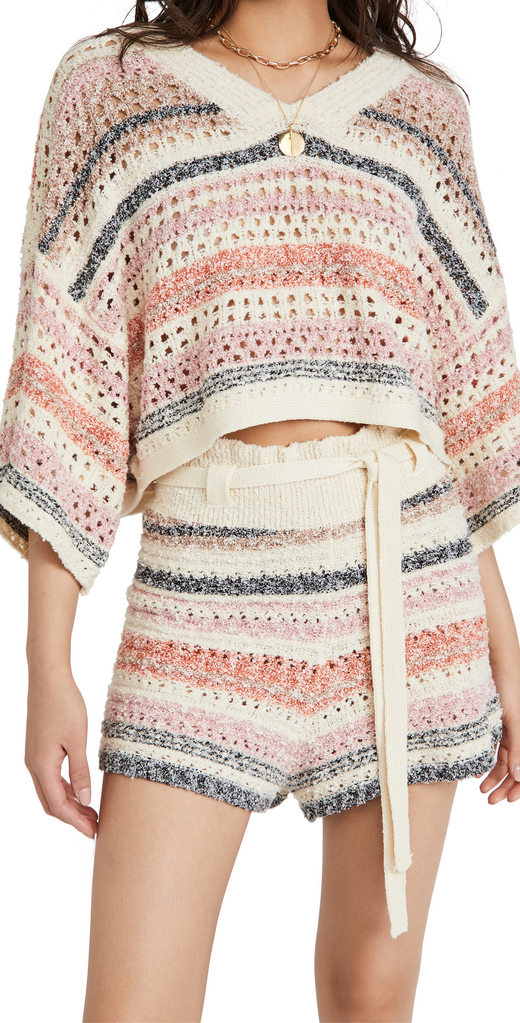 Free People Cottons STRIPES FOR DAYS SET