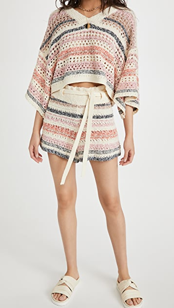 Free People Stripes For Days 套装