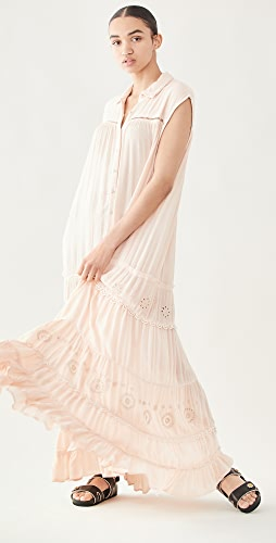 Free People - Pretty Cozy Maxi Dress
