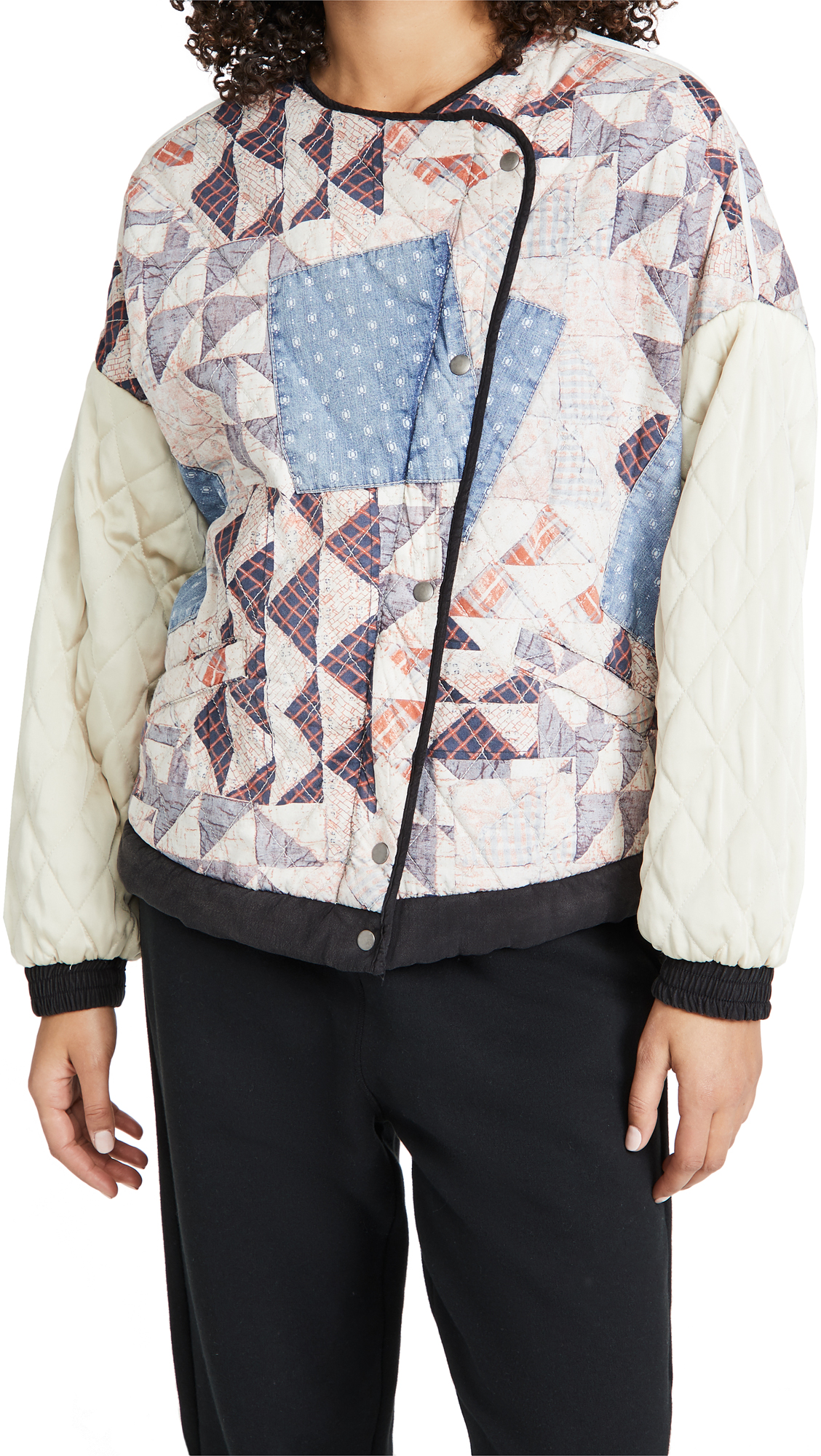 Free People RUDY QUILTED BOMBER