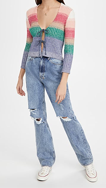 Free People Trouble Maker Cardigan