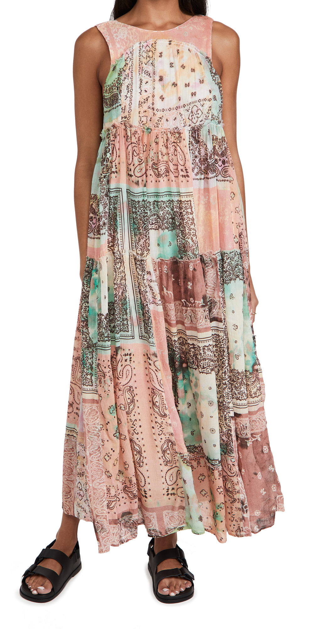 Free People Bandana Rama Maxi Dress