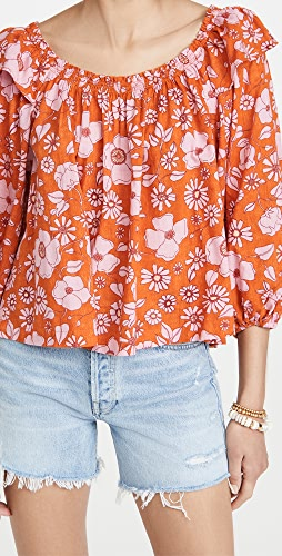 Free People - Miss Daisy Printed Top