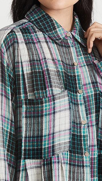 Free People The Voyage Shirtdress