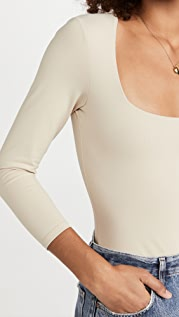 Free People Truth Or Square Thong Bodysuit
